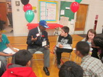Speaking with the kids