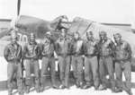 Advanced Students flew the P-40