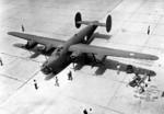 The Airmen often escorted B-24s