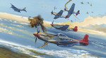 Red Tails in action