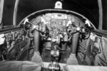 B-25 Cockpit...not a lot of room up there...