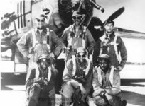 Unknown to most, the Tuskegee Airmen also constituted there own medium bomber group, the 477th