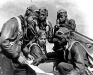Throughout the war, training continued at Tuskegee